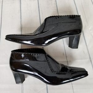 Arnold Churgin Patent Leather Shoeties Sz 37